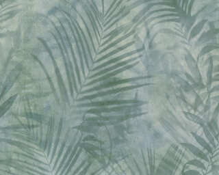 A.S. Création Wallpaper «Jungle, Green, Grey» 374111