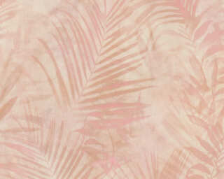 A.S. Création Wallpaper «Jungle, Beige, Cream, Pink» 374114