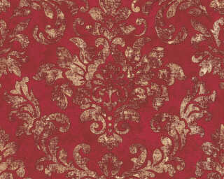 A.S. Création Wallpaper «Baroque, Gold, Metallic, Red» 374131