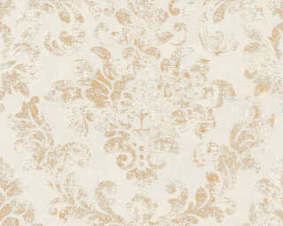 A.S. Création Wallpaper «Baroque, Beige, Brown, Gold, Grey» 374135
