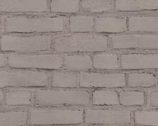 A.S. Création Wallpaper «Stone, Black, Grey» 374143