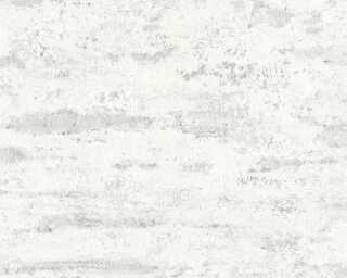A.S. Création papier peint «Uni, blanc» 374152