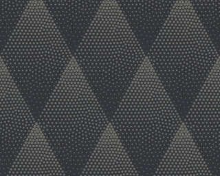 Livingwalls Wallpaper «Graphics, Black, Gold, Metallic» 374193