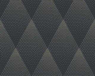 Livingwalls papier peint «Graphique, métallique, noir, or» 374193