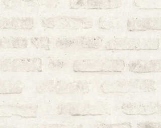 Livingwalls Wallpaper «Stone, Grey, White» 374222