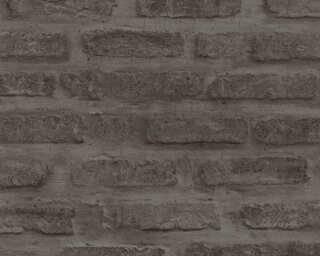 Livingwalls Wallpaper «Stone, Black, Grey» 374223
