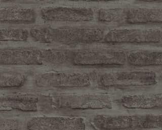 Livingwalls papier peint «Pierre, gris, noir» 374223