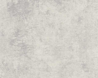 Livingwalls Wallpaper «Uni, Grey, Metallic, Silver» 374254