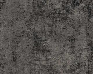 Livingwalls papier peint «Uni, métallique, noir, or» 374256