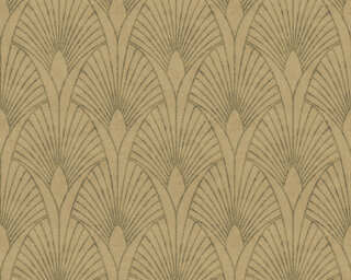 Livingwalls Wallpaper «Baroque, Beige, Brown, Gold, Metallic» 374272