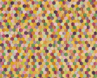 A.S. Création Tapete «Holz, Beige, Bunt, Gelb, Grün» 374631