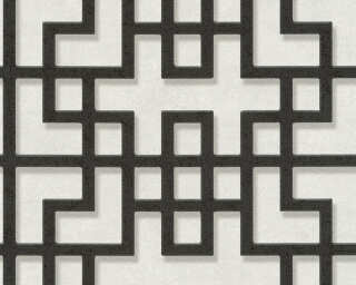 A.S. Création Tapete «Grafik, 3D, Grau, Schwarz, Weiß» 374653