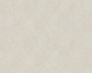 A.S. Création Wallpaper «Graphics, Beige, Cream, Grey, Taupe» 374782
