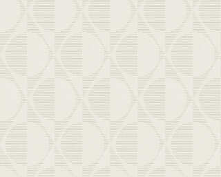 A.S. Création Wallpaper «Graphics, Beige, Cream» 374783