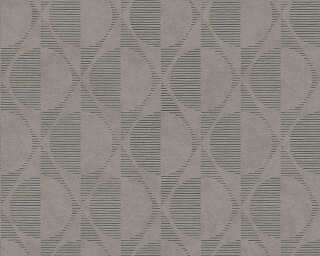 A.S. Création Wallpaper «Graphics, Beige, Black, Brown, Grey» 374785