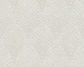 A.S. Création Wallpaper «Graphics, Beige, Cream, Grey, Taupe» 374821