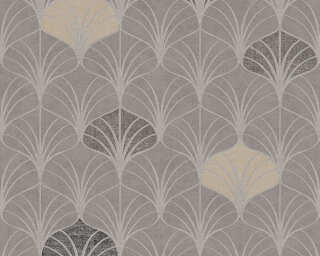 A.S. Création Wallpaper «Graphics, Beige, Brown, Grey, Taupe» 374832