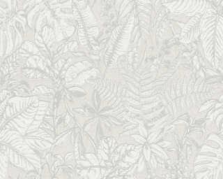 Daniel Hechter Tapete «Landhaus, Floral, Grau, Weiß» 375201