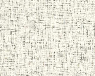 Daniel Hechter Wallpaper «Uni, Beige, Brown, Cream, White» 375243