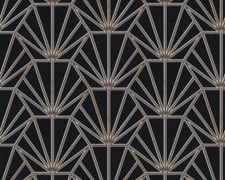 Daniel Hechter Wallpaper «Graphics, Black, Copper, Metallic» 375281