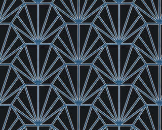 Daniel Hechter Wallpaper «Graphics, Black, Blue, Metallic, Silver» 375282