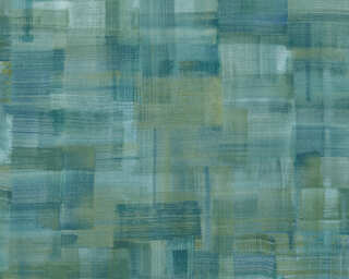 Private Walls Wallpaper «Uni, Blue, Green, Yellow» 375321