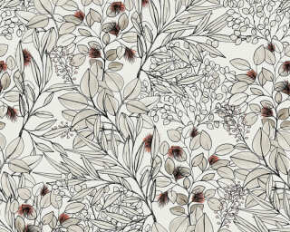 Private Walls Tapete «Floral, Beige, Rosa, Weiß» 375342