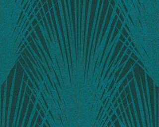 A.S. Création Wallpaper «Floral, Blue, Green, Turquoise» 375533