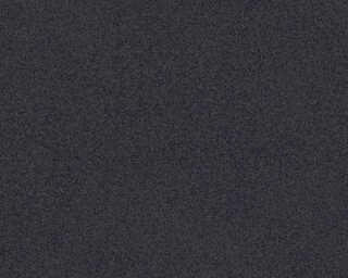 A.S. Création papier peint «Uni, noir» 375554