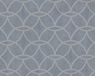 Architects Paper плоский винил «Графика, Металлик, Серебро, Серыe, Синие» 375644