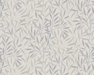 A.S. Création Tapete «Floral, Grau, Metallics» 376313