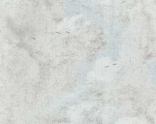 A.S. Création Tapete «Landhaus, Blau, Schwarz, Weiß» 376491