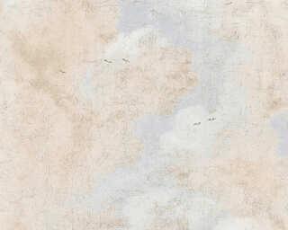 A.S. Création Tapete «Landhaus, Beige, Blau, Weiß» 376492