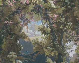 A.S. Création Tapete «Floral, Blau, Bunt, Grün» 376522