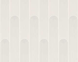 A.S. Création Tapete «Grafik, Metallics, Weiß» 376781