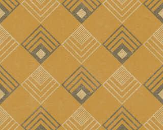 A.S. Création Tapete «Grafik, Gelb, Metallics» 376821