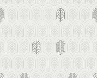 A.S. Création Tapete «Grafik, Grau, Metallics, Weiß» 376831