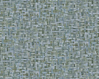 Architects Paper Tapete «Landhaus, Blau, Grün» 377063