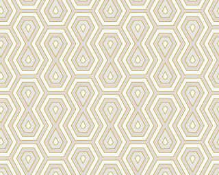 Architects Paper Tapete «Grafik, Beige, Creme, Weiß» 377071