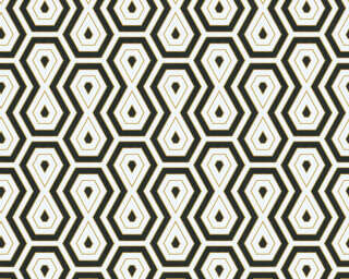 Architects Paper Wallpaper «Graphics, Beige, Black, White» 377075