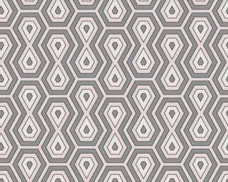 Architects Paper Tapete «Grafik, Creme, Grau, Weiß» 377077
