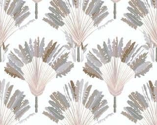 Architects Paper Tapete «Floral, Beige, Creme, Weiß» 377082