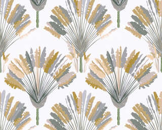 Architects Paper Wallpaper «Floral, Beige, White, Yellow» 377084