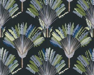 Architects Paper Обои «Флора, Зеленые, Синие, Черные» 377085