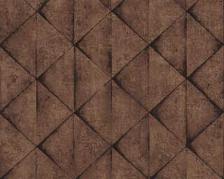 Livingwalls papier peint «Graphique, marron, noir» 377424