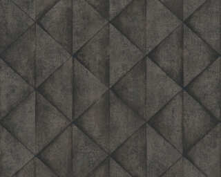 Livingwalls papier peint «Graphique, gris, noir» 377425