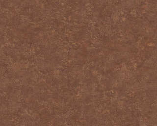 Livingwalls papier peint «Uni, marron, orange» 377441