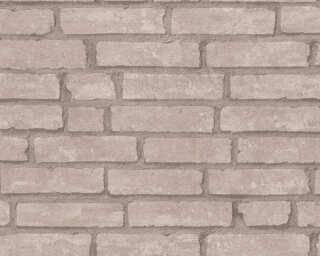 Livingwalls Tapete «Landhaus, Beige, Braun» 377473