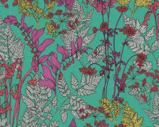 Architects Paper Обои «Флора, Зеленые, Разноцветные, Фиолетовые» 377516