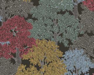 Architects Paper Обои «Флора, Разноцветные, Черные» 377532